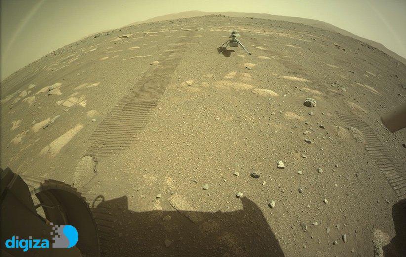 «نبوغ» با موفقیت روی سطح مریخ قرار گرفت