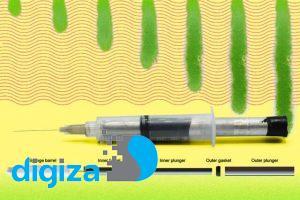 ابداع سرنگ ۲ مخزنه برای تزریق سریع داروهای غلیظ و چسبناک