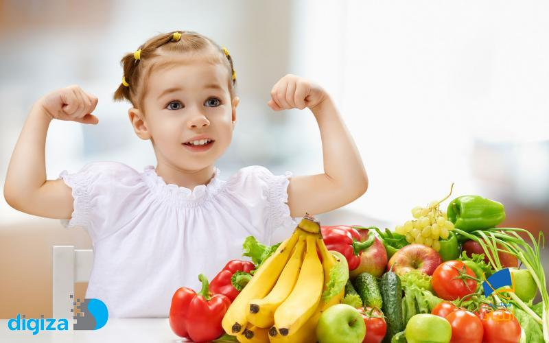 اهمیت رژیم غذایی در دوران کودکی