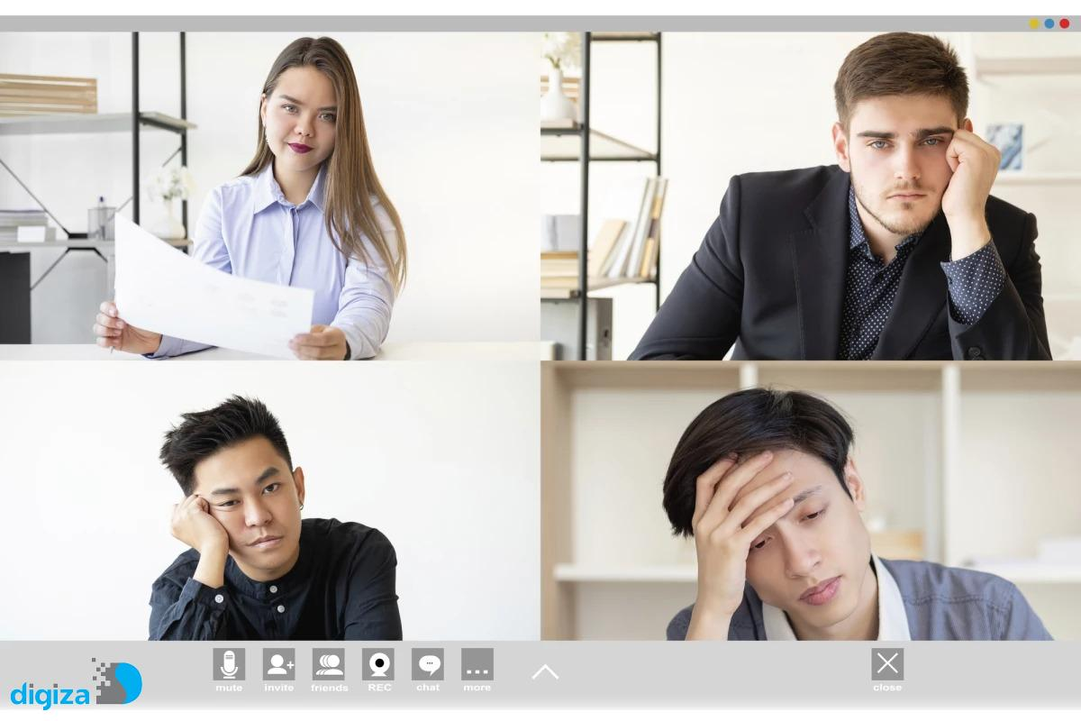 تحقیقات جدید علت خستهکننده بودن تماسهای ویدیویی را توضیح میدهد