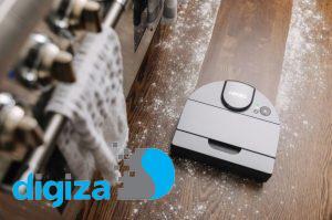 تولید جاروبرقی رباتیک مجهز به سیستم ناوبری لیدار