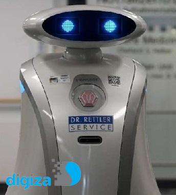 ربات عاشق نظافت که اگر به حرفش گوش نکنید گریه میکند!