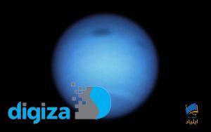 رصد لکهای تیره موسوم به طوفان تیره بر روی سیارهی نپتون