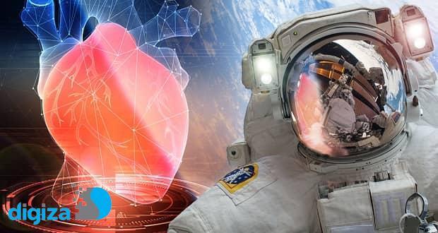 زندگی در فضا باعث کوچک شدن قلب انسان میشود