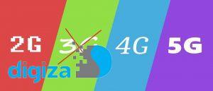 شبکه 3G در ایران خاموش می شود