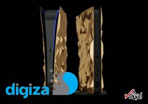 لاکچریترین نسخه PS5 با ۲۰ کیلو طلای خالص