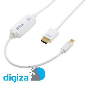 کابل تبدیل Mini DisplayPort به HDMI پرولینک مدل MP415 به طول 2 متر