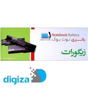 باتری لپ تاپ 6 سلولی زیگورات برای لپ تاپ Dell Latitude D820, D830, D531