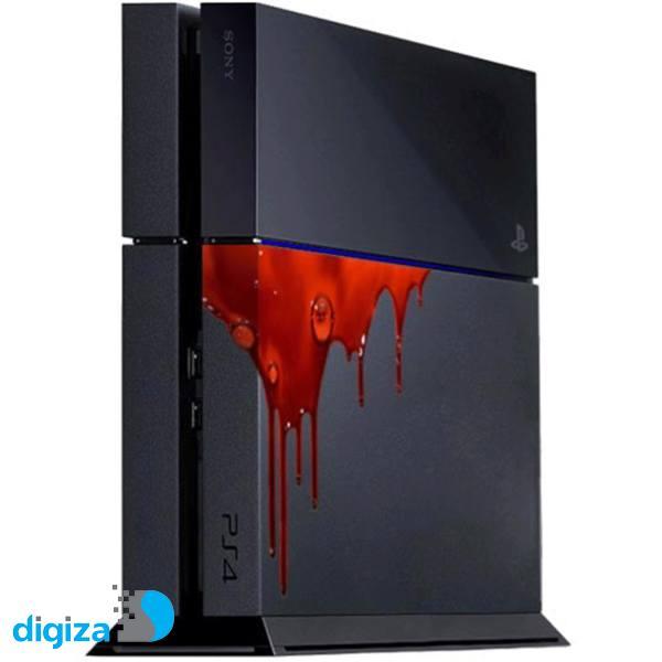 برچسب عمودی پلی استیشن 4 ونسونی طرح Blood Gush
