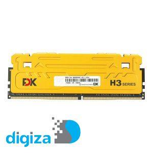 رم دسکتاپ DDR4 تک کاناله 3600مگاهرتز CL18 فدک مدل H3 ظرفیت 8 گیگابایت
