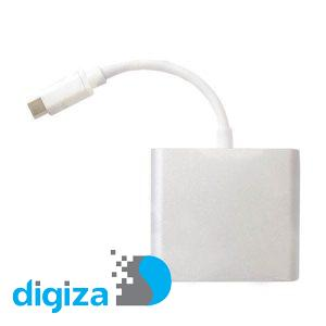مبدل USB-C به HDMI/USB/USB-C پی نت مدل A100