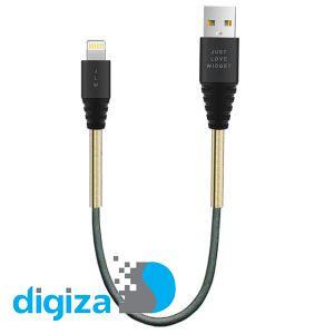 کابل تبدیل USB به لایتنینگ جاست لاو ویجت مدل 6s طول 0.3 متر