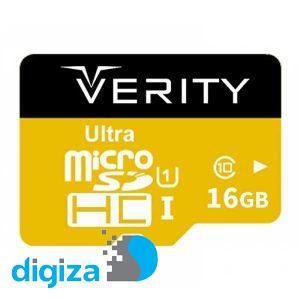 کارت حافظه وریتی مدل U106 کلاس 10 استاندارد UHS-I U1 سرعت 95MBps ظرفیت 16 گیگابایت