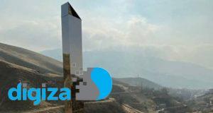 مونولیت در جاجرود ؛ ستون فلزی مرموز این بار در ایران