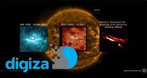 ناسا برای اولین بار چرخه حیات یک نانو شراره خورشیدی را ثبت کرد