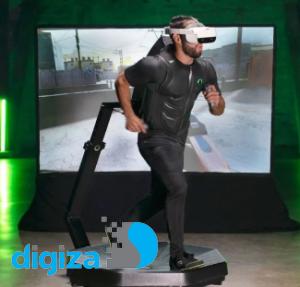 ورزش حرفهای با تردمیل واقعیت مجازی