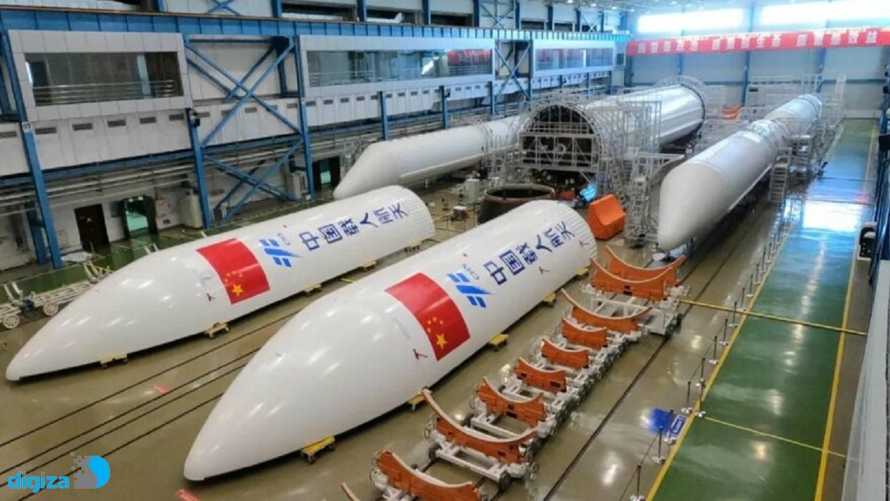 چین در مسیر ساخت ایستگاه فضایی