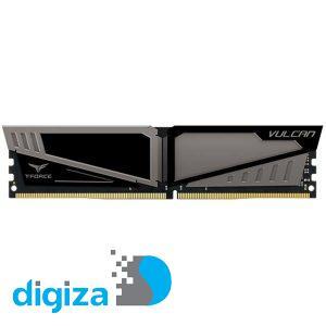 رم دسکتاپ DDR4 تک کاناله 2400 مگاهرتز CL14 تیم گروپ مدل Vulcan ظرفیت 4 گیگابایت