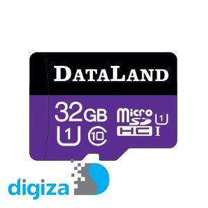 کارت حافظه microSDHC دیتالند مدل 533x کلاس 10 استاندارد UHS-I U1 سرعت 85MBps ظرفیت 32 گیگابایت
