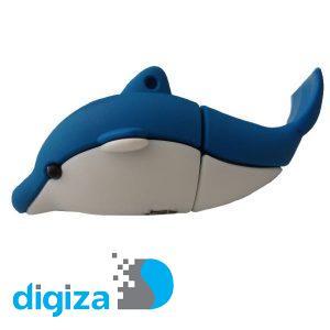 فلش مموری پرلیت یو اس بی طرح دلفین مدل W-62 ظرفیت ۳۲ گیگابایت
