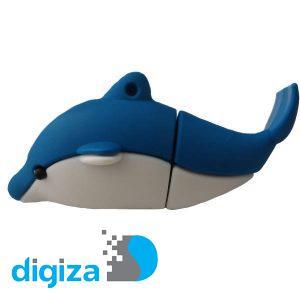 فلش مموری پرلیت یو اس بی طرح دلفین مدل W-62 ظرفیت 64 گیگابایت