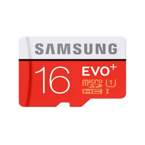 کارت حافظه microSDHC مدل Evo Plus کلاس 10 استاندارد UHS-I U1 سرعت 80MBps ظرفیت 16 گیگابایت