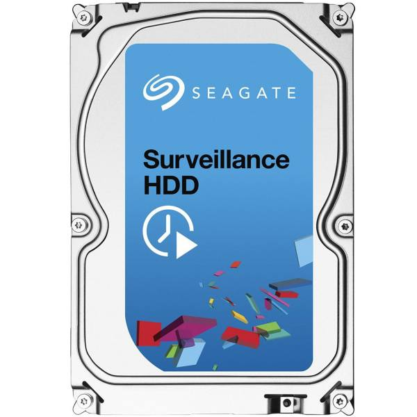 هارددیسک اینترنال سیگیت سری Surveillance مدل ST6000VX0001 ظرفیت 6 ترابایت