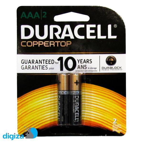 باتری نیم قلمی دوراسل مدل Plus Power Coppertop بسته 24 عددی