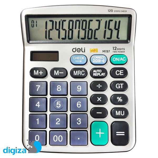 ماشین حساب دلی کد M197 10