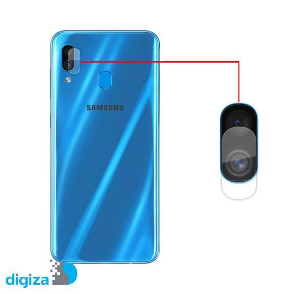 محافظ لنز دوربین مدل bt-63 مناسب برای گوشی موبایل سامسونگ Galaxy A30