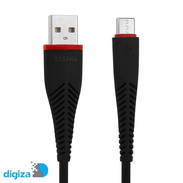 کابل تبدیل USB به USB-C راسانا مدل C003 طول 1 متر