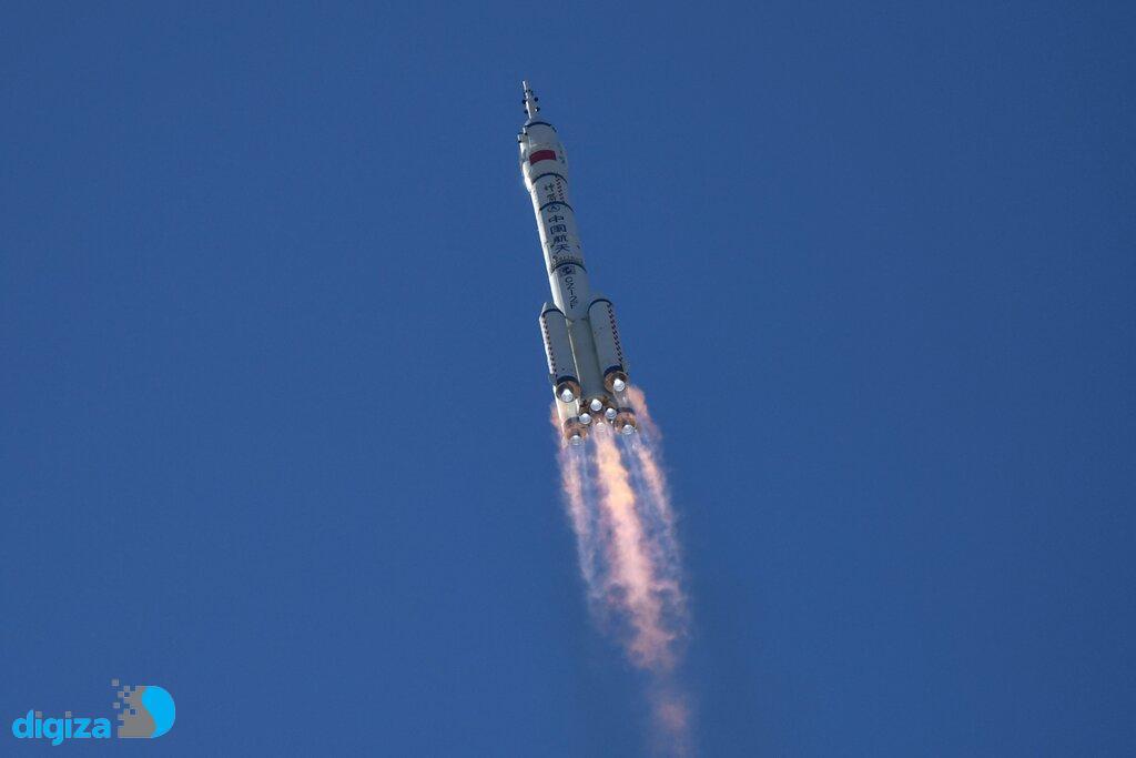 ایستگاه فضایی چین برای اولین بار میزبان سه فضانورد این کشور شد