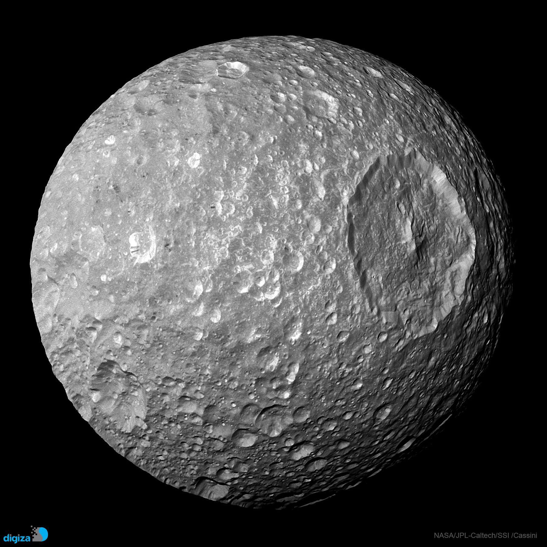 میماس: قمر کوچک با یک دهانۀ بزرگ