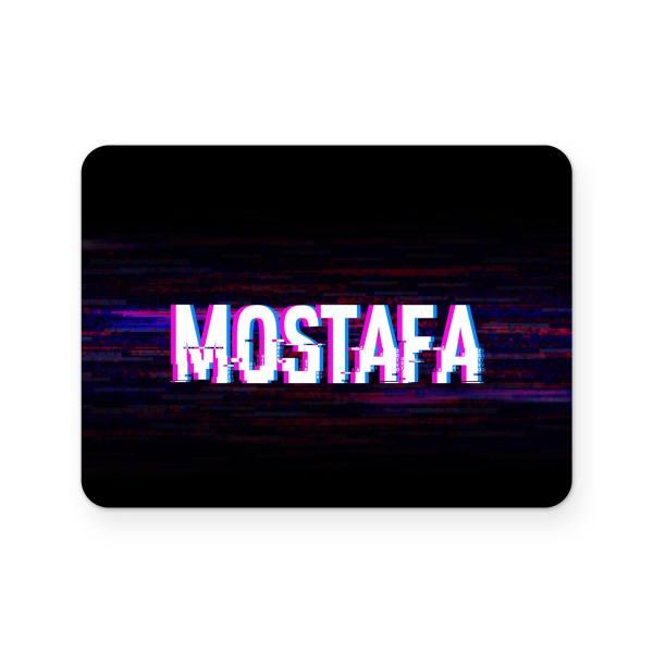 برچسب تاچ پد دسته بازی پلی استیشن 4 ونسونی طرح Mostafa