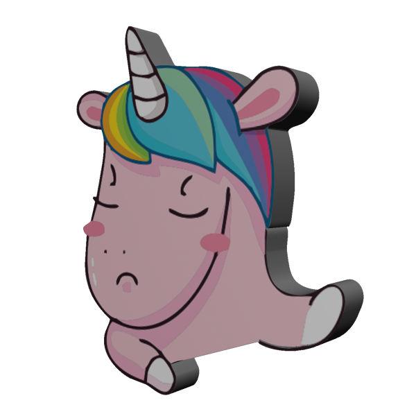 استیکر اسب تک شاخ مدل Unicorn 6