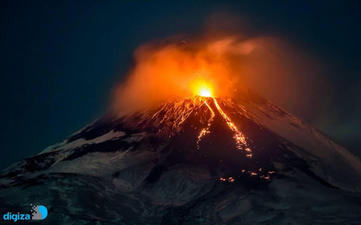 ارتفاع آتشفشان «اتنا» در شش ماه گذشته ۳۰ متر بیشتر شده است