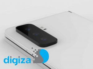 رندر Surface Duo 2 مایکروسافت را ببینید