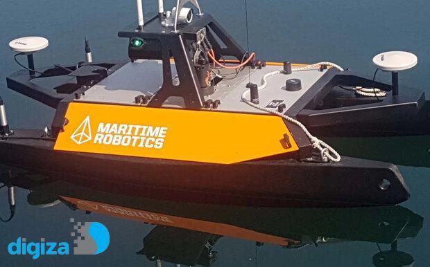 قایق رباتیک از بستر دریا نقشه برداری میکند