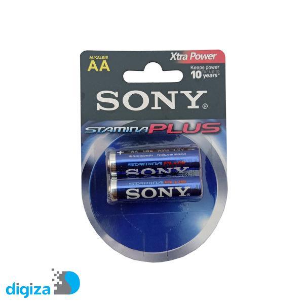 باتری قلمی سونی مدل AM3-B2D stamina plus بسته 2 عددی