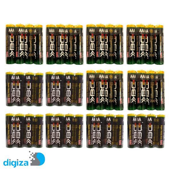 باتری قلمی و نیم قلمی دی بی کی مدل Super Heavy Duty Plus بسته 48 عددی
