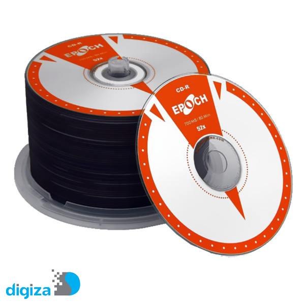 سی دی خام اپوچ مدل CD-R 52x بسته 50 عددی