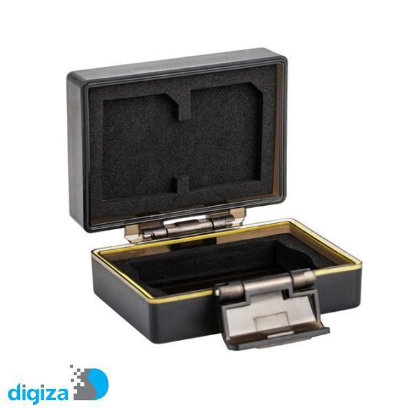 کیف محافظ باتری و کارت حافظه جی جی سی مدل BC-LPE17 مناسب برای دوربین Canon LP-E17