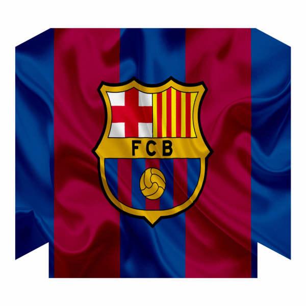 برچسب پلی استیشن ۴ فت مدل بارسلونا