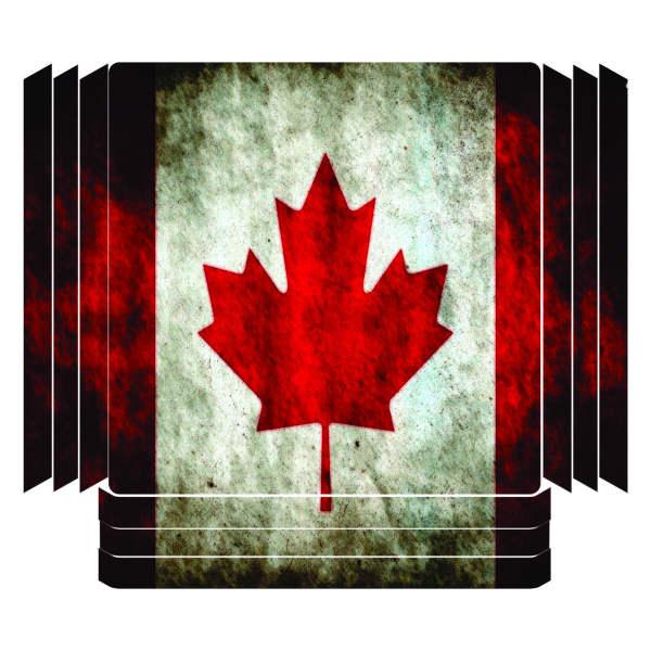 برچسب پلی استیشن ۴ پرو مدل کانادا
