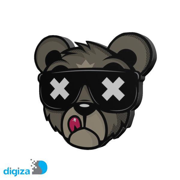 استیکرکنسول  طرح خرس کد 378