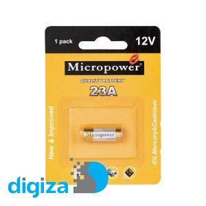 باتری 23A میکروپاور مدل ریموت