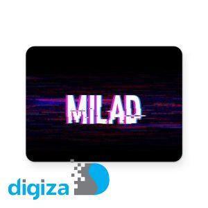برچسب تاچ پد دسته بازی پلی استیشن 4 ونسونی طرح Milad