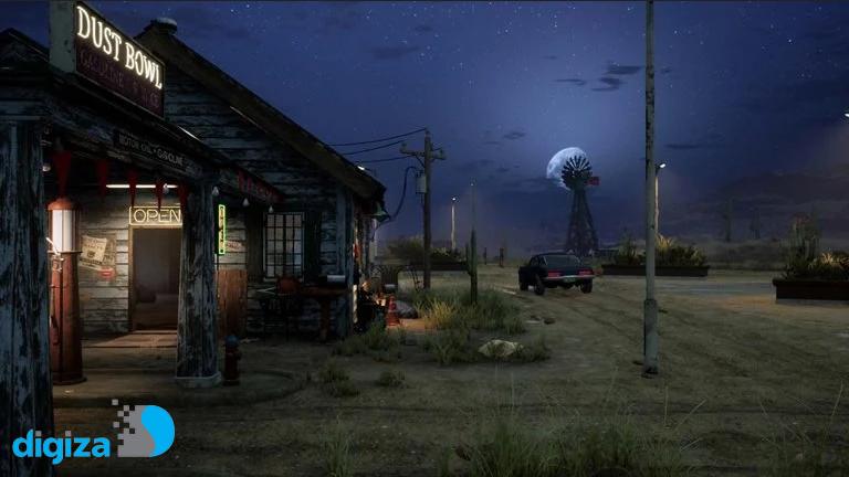 فروش بالای بازی شبیه ساز سوخت گیری Gas Station Simulator در استیم