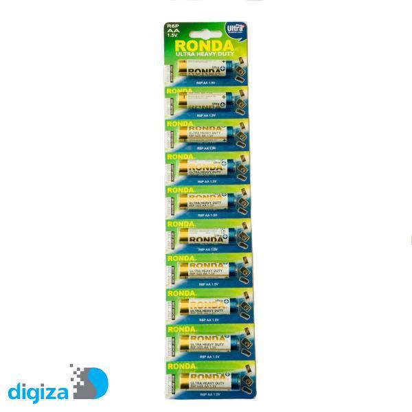 باتری قلمی روندا کد 32 بسته 10 عددی