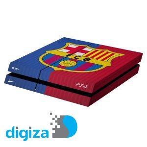 برچسب افقی پلی استیشن 4 ونسونی طرح FC Barcelona 2016